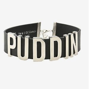 SUICIDE SQUAD HARLEY QUINN BLACK PUDDIN CHOKER